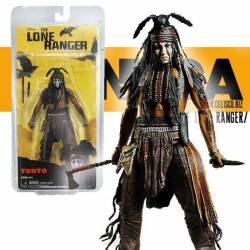 The Lone Ranger Deluxe Action Figure Tonto 18 cm