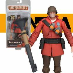 Team Fortress Series 2 Ultra Deluxe Action Figure Soldier 17 cm