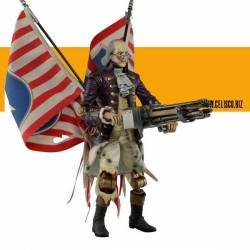 BioShock Infinite Action Figure Benjamin Franklin Heavy Hitter Patriot 23 cm
