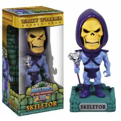 Masters of the Universe Wacky Wobbler Bobble-Head Skeletor 15 cm