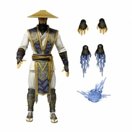 Mortal Kombat X Raiden Action Figure Mezco Toyz