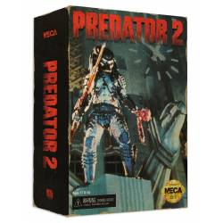 Predator 2 Action Figure City Hunter Predator Video Game Appearance 20 cm
