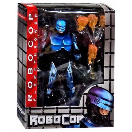 RoboCop vs. The Terminator Action Figures 18 cm Series 2 RoboCop - Flamethrower RoboCop
