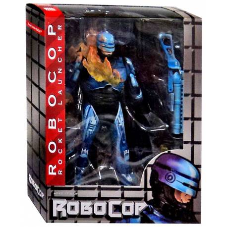 RoboCop vs. The Terminator Action Figures 18 cm Series 2 - Fire-Damaged RoboCop