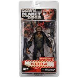 Dawn of the Planet of the Apes Action Figures 18 cm Series 2 Koba with Machine Gun