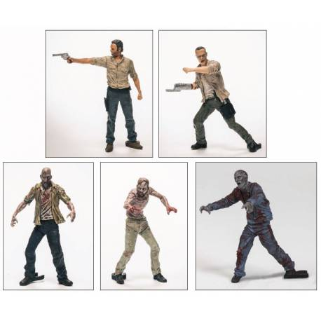 The Walking Dead TV series: Building Sets - 5 Figure Pack