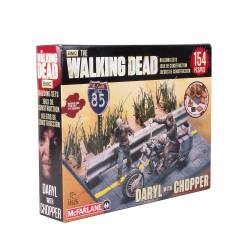 The Walking Dead TV series: Building Sets - Daryl Dixon /w Chopper