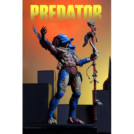 NECA Predator Action Figure 25th Anniversary Dark Horse Comic Book Predator 20 cm