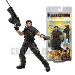 NECA Bulletstorm Action Figure Grayson 18 cm Videogame Figures