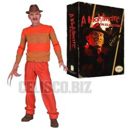 Nightmare on Elm Street Action Figure Freddy Krueger (1989 Video Game Version) 18 cm