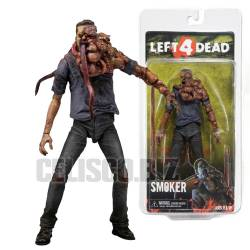 Left 4 Dead Deluxe Action Figure Smoker 18 cm NECA - Videogame Figure