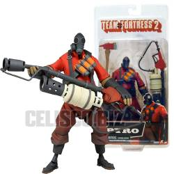 Team Fortress 2 Deluxe Action Figure Pyro 17 cm