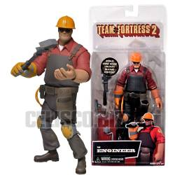 NECA Team Fortress Series 3 Deluxe Action Figure Red Engineer 16 cm Videogame Figure