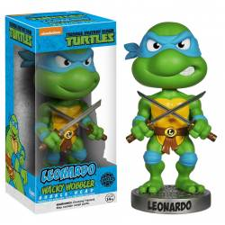 Teenage Mutant Ninja Turtles Wacky Wobbler Bobble-Head Leonardo 15 cm Funko