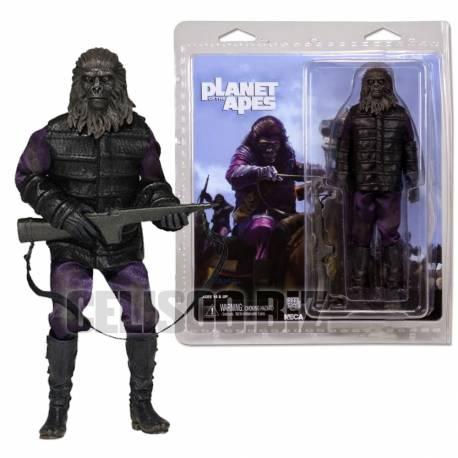 NECA Planet of the Apes Retro Action Gorilla Soldier 20 cm (Mego Style Figure)