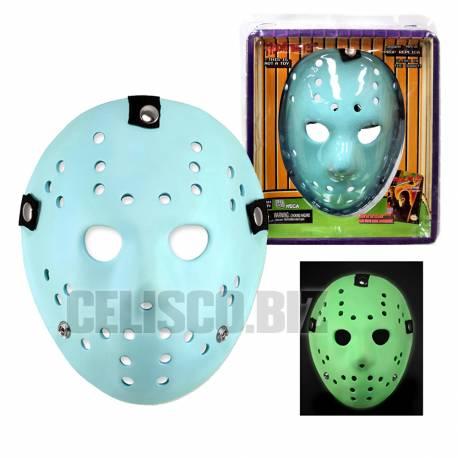 NECA Replica Friday the 13th (1989 video game) Replica Jason Mask Glow in the Dark
