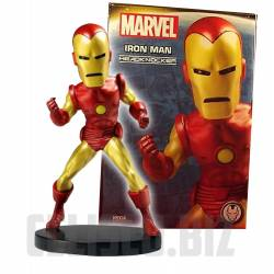 Marvel Classic Extreme Head Knocker Bobble-Head Iron Man 20 cm