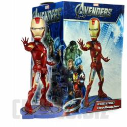 The Avengers Head Knocker Iron Man 18 cm