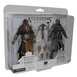 NECA Assassin's Creed Action Figure 2-Pack Ezio Auditore Exclusive 18 cm