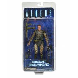 "Aliens - 7"" Action Figure - Series 2 Sgt. Windrix"