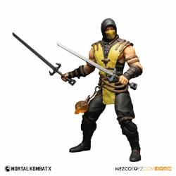 Mezco Toyz Mortal Kombat X Action Figure 1/6 Scorpion 30 cm