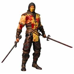 Mezco Toyz Mortal Kombat X Action Figure Scorpion Bloody Variant Previews Exclusive 15 cm