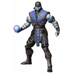 Mezco Toyz Mortal Kombat X Action Figure Sub-Zero Ice Variant Previews Exclusive 15 cm