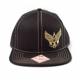 Bioworld Merchandise Assassin´s Creed IV Black Flag Snap Back Baseball Cap Gold Logo
