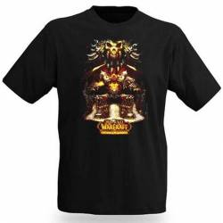 World of Warcraft Garrosh Throne T-Shirt