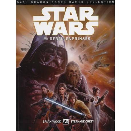Dark Dragon Stripboeken STAR WARS NL 08 REBELLENPRINSES 2