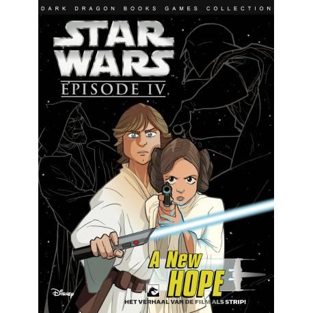 Dark Dragon Stripboek STAR WARS NL FILMSPECIAL EPISODE IV A NEW HOPE