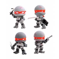 The Loyal Subjects Teenage Mutant Ninja Turtles Action Vinyl Figures 4-Pack Battle Damage 8 cm