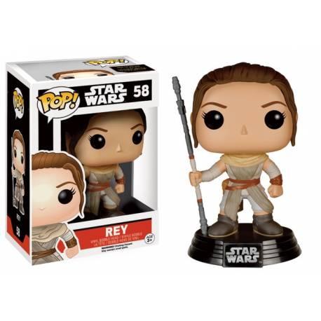 Funko Pop! Star Wars: The Force Awakens - Rey