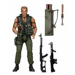 NECA Commando Action Figure 30th Anniversary Ultimate John Matrix 18 cm