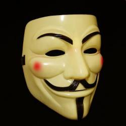 Cosplay Mask V For Vendetta Mask Anonymous Movie Guy Fawkes Halloween