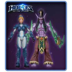 Heroes of the Storm Action Figures 18 cm Series 1 Assortment NECA