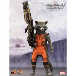Hot Toys Guardians of the Galaxy Movie Masterpiece Action Figure 1/6 Rocket 16 cm
