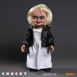 Mezco Toyz of Chucky Talking Tiffany Doll 38 cm