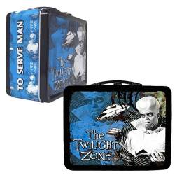 The Twilight Zone Kanamit Tin Tote Case