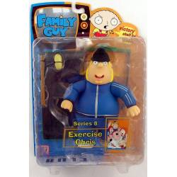 Family Guy Series 8 - Exercise Chris 15 cm
