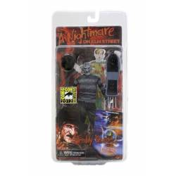 Nightmare on Elm Street Action Figure Comic Book Freddy SDCC 2012 Exclusive 18 cm