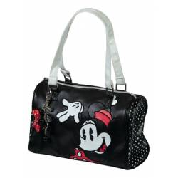 Minnie Mouse City Bag White Flower