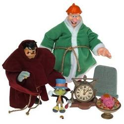 Disney Mickey's Christmas Carol the Ghost of Christmas - 3 Ghost Action Figure Box Set