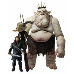 The Hobbit Action Figure 2-Pack Goblin King & Thorin Oakenshield