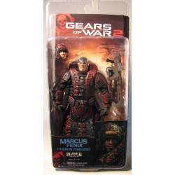 Gears of War 2 NECA Marcus Theron Disguise 7 inch