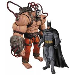 Batman Arkham Asylum Action Figure 2-Pack Bane vs. Batman 17 cm
