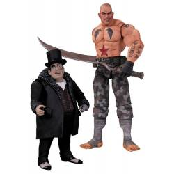 Batman Arkham City Action Figure 2-Pack Sickle & Penguin 17 cm
