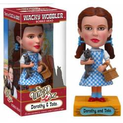 The Wizard of Oz - Dorothy Wacky WobblerScarecrow Wacky Wobbler