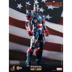 "IRON MAN 12"" IRON PATRIOT DIE CAST AF"