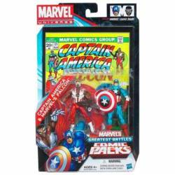 MARVEL Universe MARVEL'S Greatest Battles Comic Packs CAPTAIN AMERICA & MARVEL'S FALCON Pack
